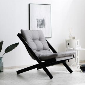 新品包邮北欧现代单人布艺休闲可拆洗茶几组合阳台卧室小沙发椅子