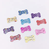 Pet bone BB clip Yorkshire Maltese jewelry headwear Bomei BB clip Teddy dog ​​hair clip