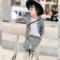 女童长袖西装套装2018春季新款韩版儿童格子外套男童休闲裤两件套