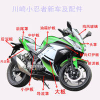 Small ninja shell full set of homemade Kawasaki Yongyuan horizon R2GT Northern Lights R3 motorcycle sports car accessories