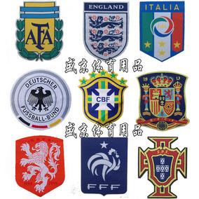 球队修补丁贴画世界杯布贴阿根廷烫印贴德国脸贴纸粘贴膜衣服贴布