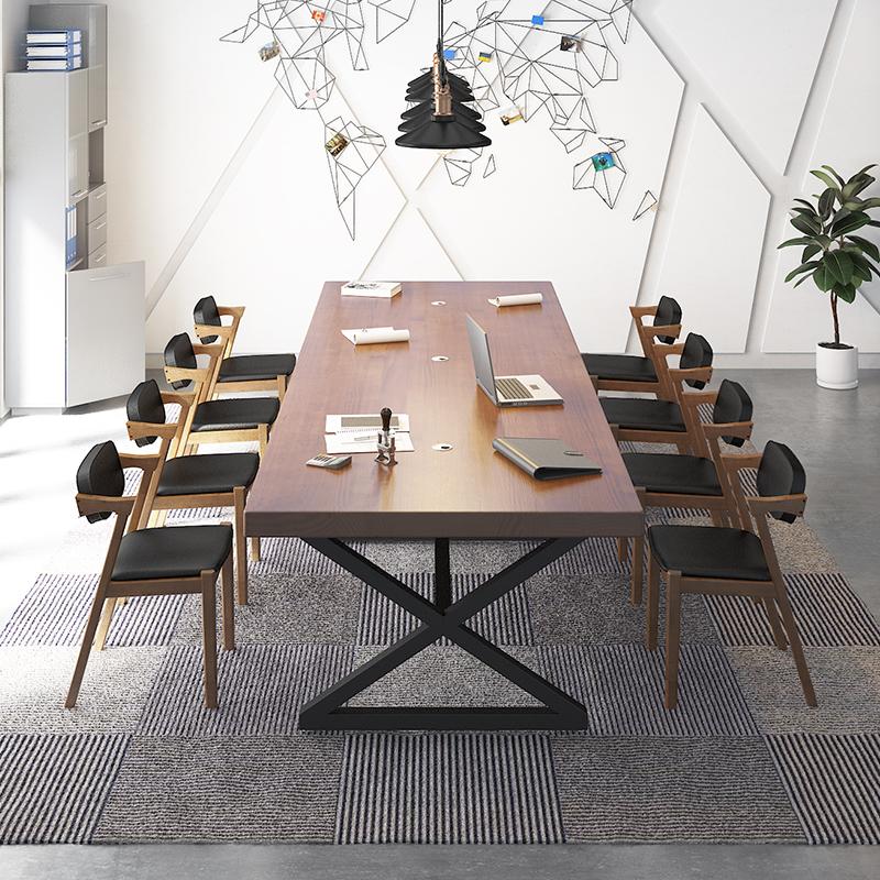 果漫美式会议桌GM-HYZ-019
