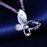 Gold-do-hi pt950 platinum pendant female platinum pendant item pull butterfly platinum necklace pendant