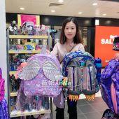 现货-澳洲smiggle独角兽飞机造型儿童书包一年级学生双肩包礼物