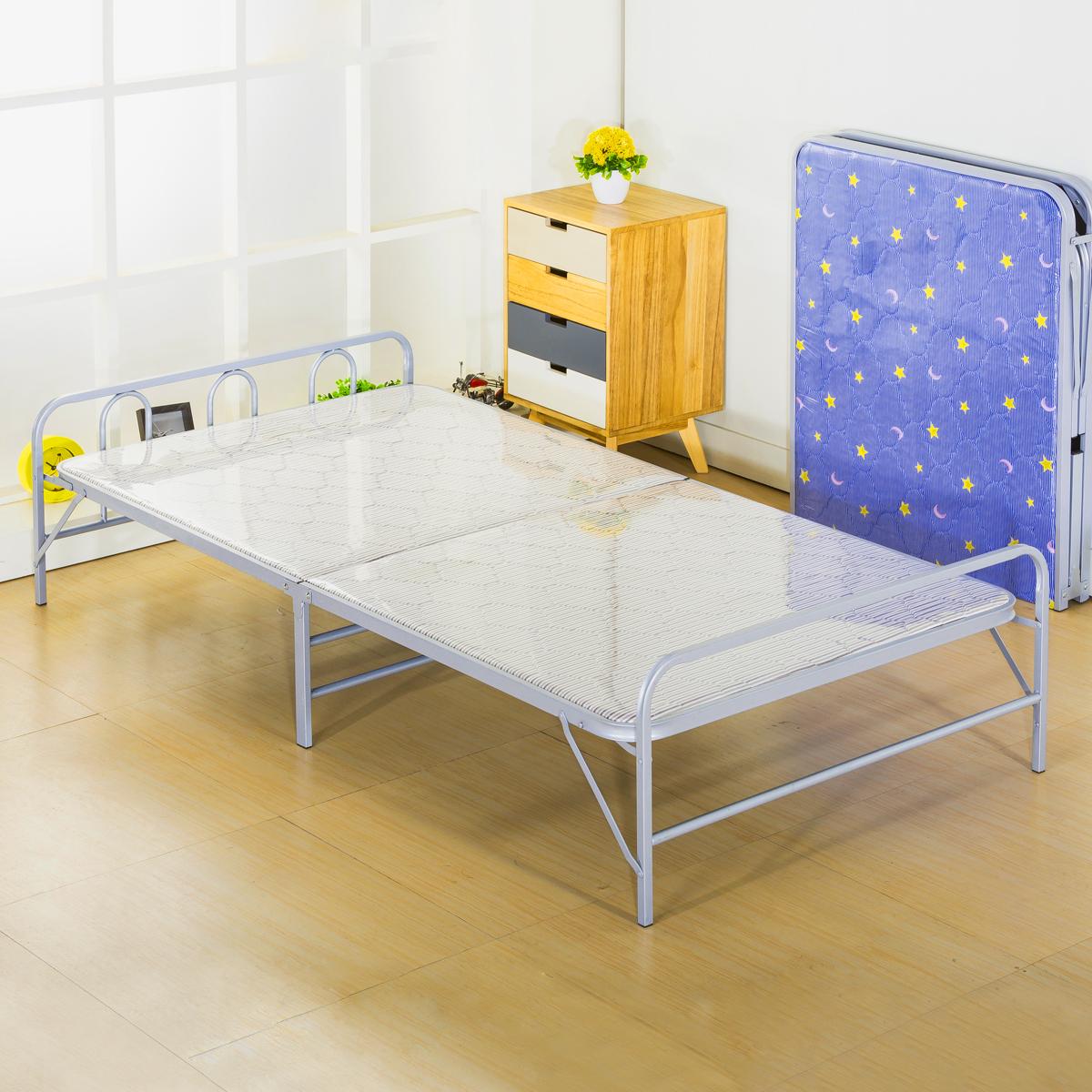 BX折叠床单人办公室午休床午睡医院陪护加床海棉硬板木板小床