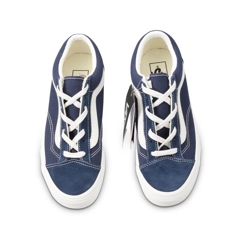 范斯VANS Style 36 新款深蓝 军绿男女低帮板鞋帆布鞋VN0A3DZ3VTE