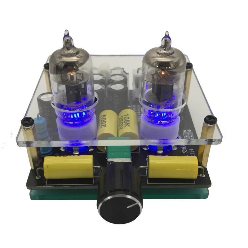 发烧6J1电子管胆机前级发烧hifi甲类功放6j2放大器diy套件成品板