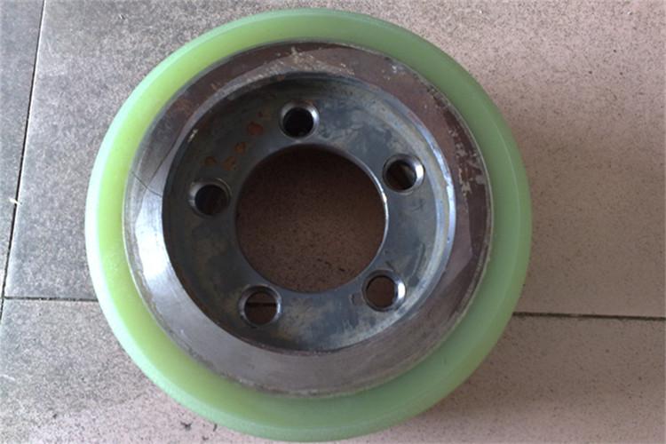 林德叉车轮包胶液压车包胶轮聚氨脂PU轮子堆高车轮电动搬运车轮子
