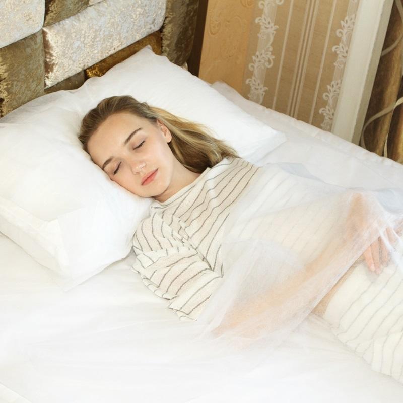 千货 出差旅行便携一次性睡袋酒店宾馆用品一次性隔脏隔脏床单1