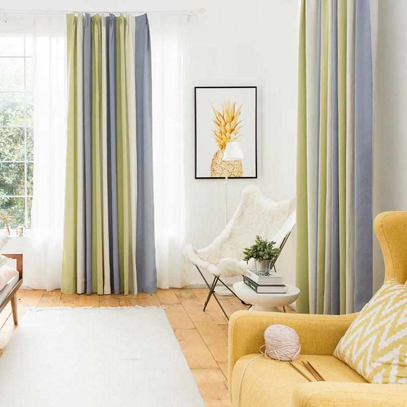 新中式布艺窗帘