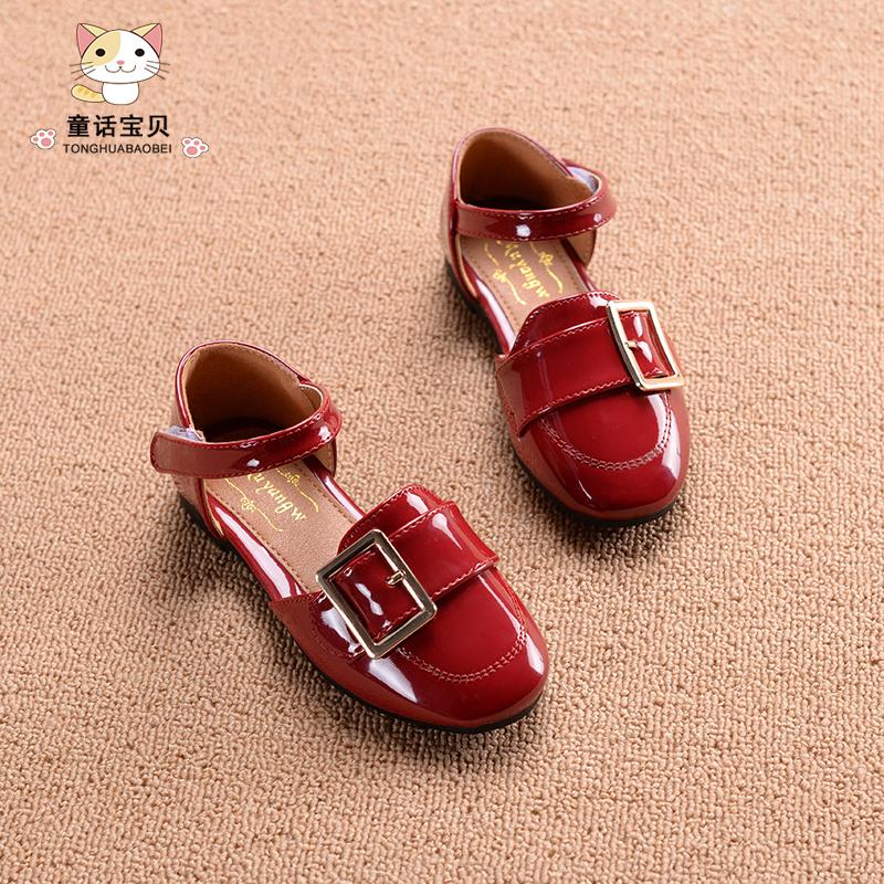 儿童凉鞋女春公主鞋