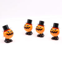 New exotic toys, bouncing, jumping, halloween pumpkin, children's clockwork toy, chain pumpkin