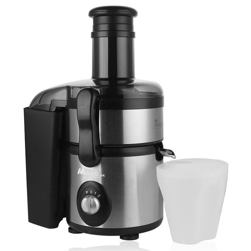 柠檬生姜榨汁家用电动全自动渣汁分离大口径大功率新鲜水果原汁机