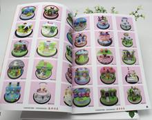 207新款仿真生日蛋糕图册书面包私房模型高清图