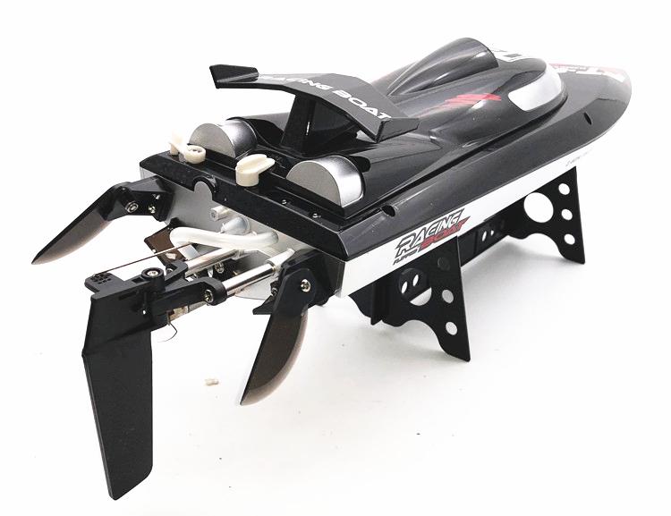 飞轮超大无刷成人专业比赛遥控船高速玩具船水上电动飞艇水冷快艇