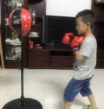 落地立式室内拳击沙袋训练器材家用儿童小孩健身发泄多功能