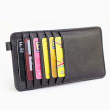 卡包多卡位银行卡夹卡套男士女士情侣钱包牛皮大容量韩版超薄