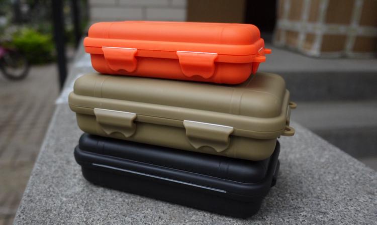 户外防水盒密封舱随身要盒便携要瓶防震防压收纳旅行防护救生装备
