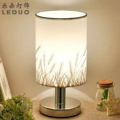 台灯卧室床头灯创意温馨浪漫简约现代个性小夜灯喂奶抖音触摸台灯