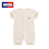 Anbaoer newborn baby bodysuit summer baby short-sleeved thin section out romper baby cotton jumpsuit