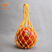 Polypropylene bold single-pack net football volleyball basketball bag small mesh net bag ball bag ball pocket