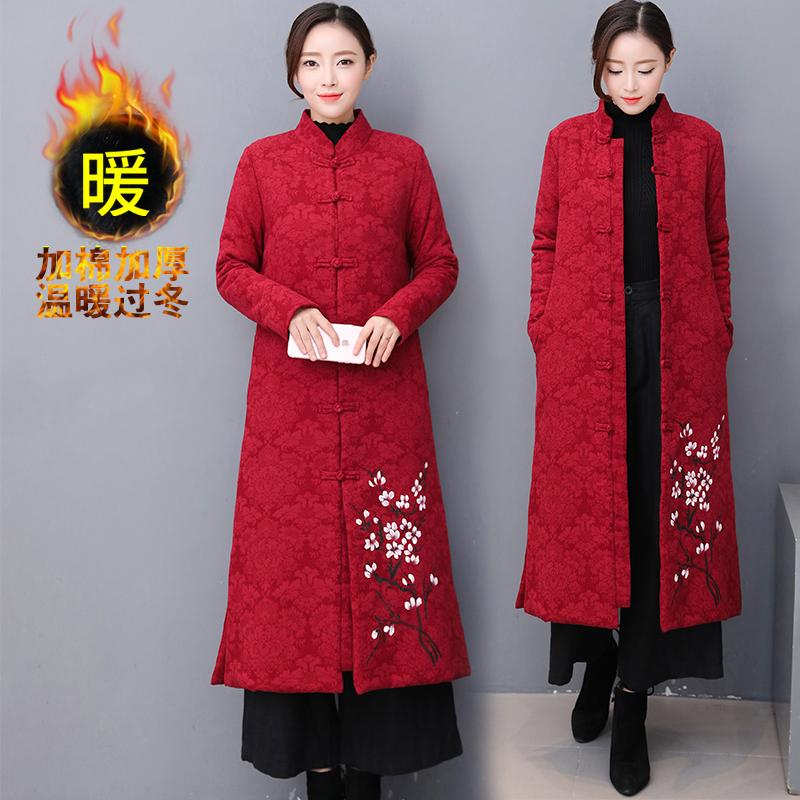 棉麻大衣冬