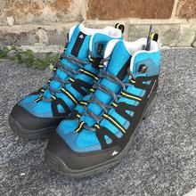 迪卡侬登山鞋防滑儿童高帮防水儿童户外春季徒步鞋QUECHUA