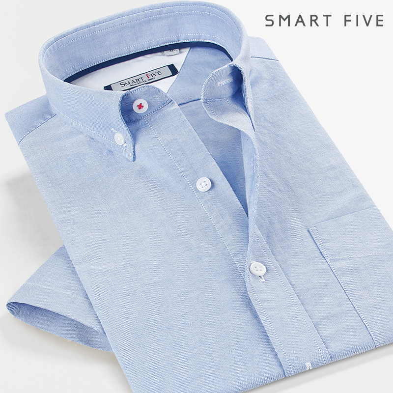 短袖青春流行男衬衫