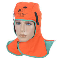 Witt official 23-6680 fire fox electric welding cap shawl hood welder dust cap breathable flame retardant hood genuine