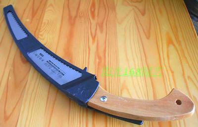 台湾木柄弯锯 德之助手锯-园艺锯-果树锯-园艺锯 伐木锯 园林锯