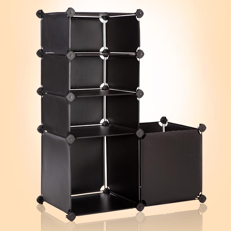 乔明 简易置物架层架时尚储物架隔板组合搁板创意收纳架