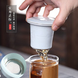 Travel Tea Set Express Cup, One Pot, Two Cups Convenient Vehicle-mounted Outdoor Indoor Travel Tea Set Customized Logo