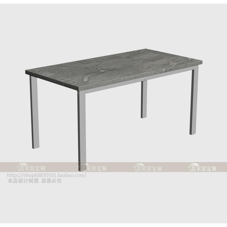 304不锈钢桌腿定做 简约风格电脑桌架 餐桌办公桌大理石玻璃支架