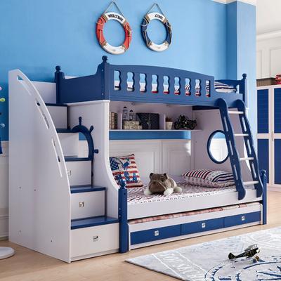 儿童床上下床高低床双层床成人母子床子母床上下铺床多功能储物床品牌排行榜