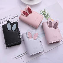 防盗防消磁卡套小巧卡包钱包一体包女式超薄可爱大容量卡片包卡夹图片