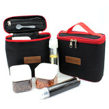 New outdoor camping seasoning box portable set barbecue seasoning tank combination set solid liquid seasoning bottle package