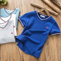 男童短袖T恤2019夏季新款中大童纯棉t恤衫儿童半袖男孩体恤上衣