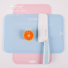 MAYAMIYA Japanese antibacterial baby food supplement cutting board food grade PP plastic cutting board cutting board cutting board heat-resistant household