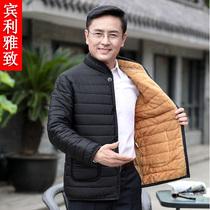 小青年韩版帅气羽绒棉服男士高领棉袄子外套2018棉衣男装冬季潮流