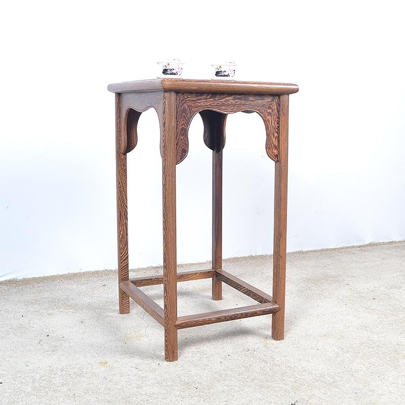 红木家具鸡翅木交椅仿古中式圈椅太师椅围椅 全实木可折叠靠背椅