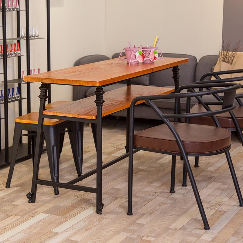实木美甲桌椅凳子指甲桌美甲台单人双人三人修甲台指甲油展示架子