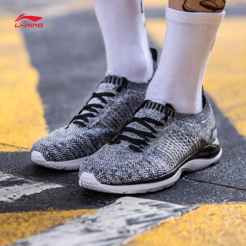 李宁跑步鞋男鞋2018新款超轻15代轻质透气反光男秋季低帮运动鞋