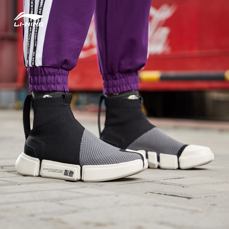 中国李宁纽约时装周系列休闲鞋.