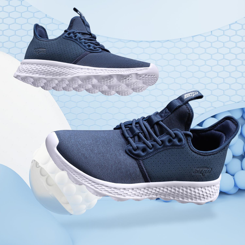 LN李宁跑步鞋男鞋官网正品新款eazGO秋冬季舒适情侣低帮运动鞋男