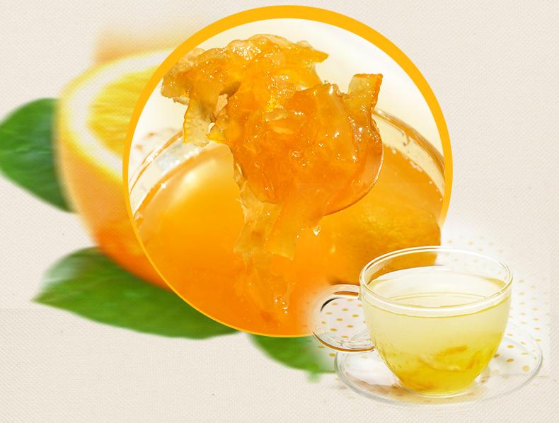 1kg蜂蜜柚子茶酱大拇指柚子茶浆 柚子果肉冲饮料 花果茶冷热皆宜