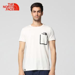 TheNorthFace北面春夏新品吸湿透气户外休闲男速干衣短袖T恤 3CJL