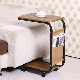 边几移动茶几茶桌简约小桌子迷你角几小方桌沙发边桌电脑桌床头桌多少钱  便宜价格_阿牛购物网