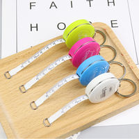 Deli 8214 Candy-colored mini tape measure Measuring the height of the body with a small ruler