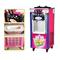 冰淇淋机冰激凌机广绅冰淇淋机立式冰激凌机三头三色雪糕机甜筒机