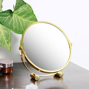 梳妆镜镜便携随身高清学生宿舍双面桌面